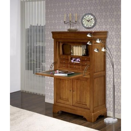 Meuble Louis Philippe Occasion Secretaire Louis Philippe Merisier Massif Comme Neuf
