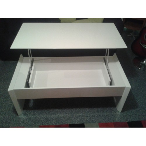 Table Basse Fly Table Basse Relevable Extensible Fly