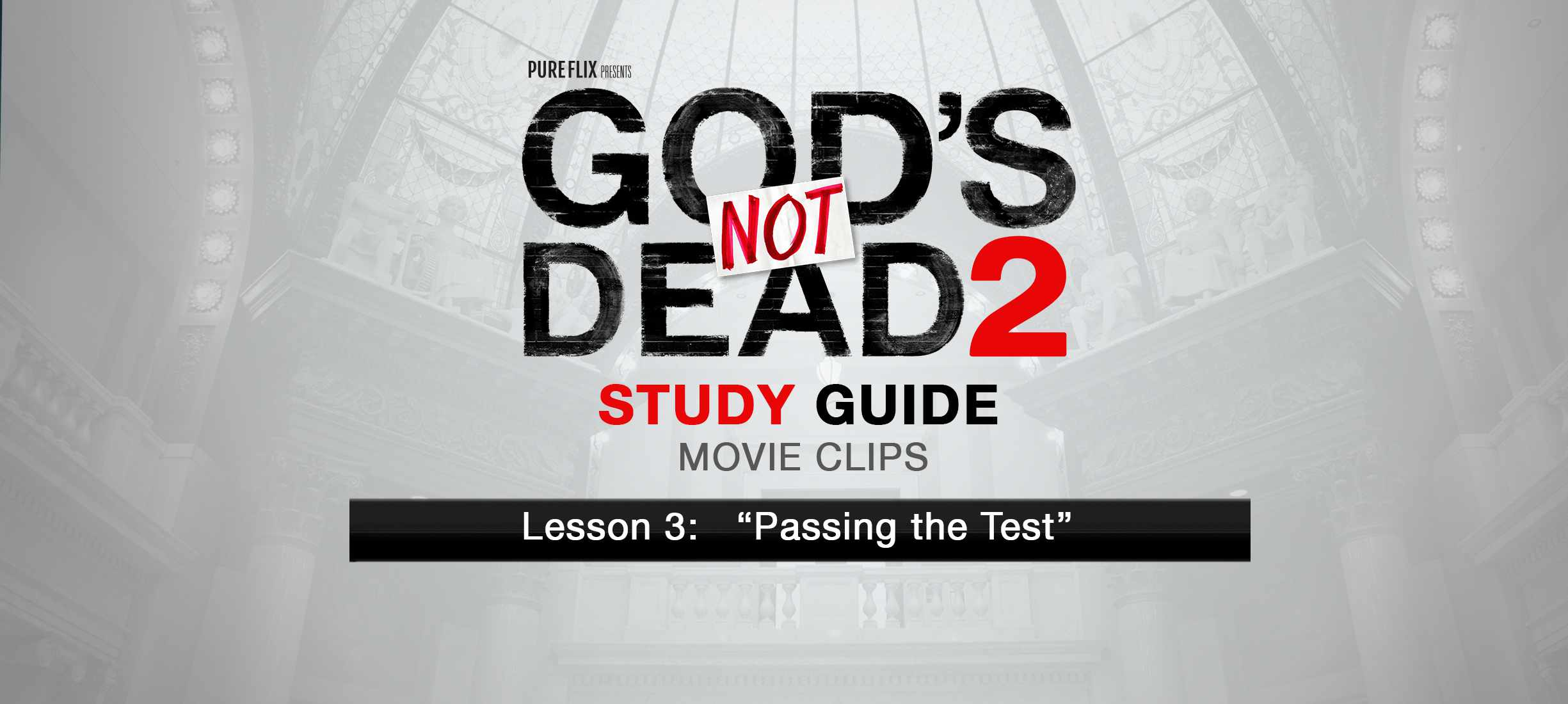 Study Guide 3 Watch God S Not Dead 2 Study Guide
