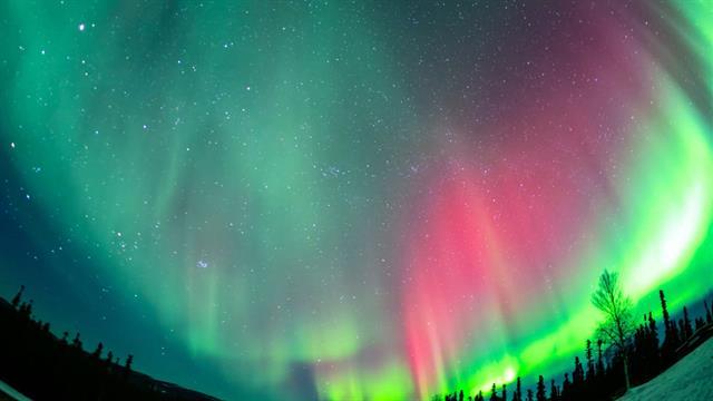 Wallpaper Milky Way Hd Brilliant Time Lapse Of Alaska S Northern Lights