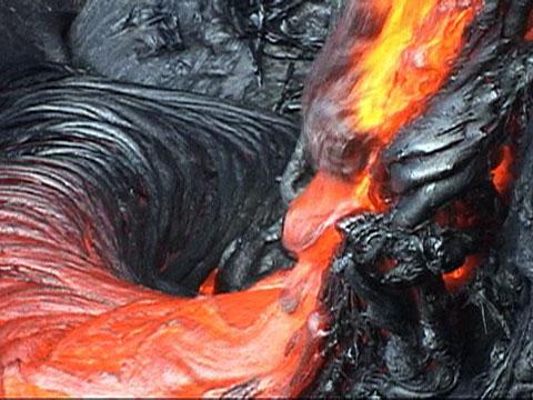 Fall Trees Iphone Wallpaper Volcano Lava