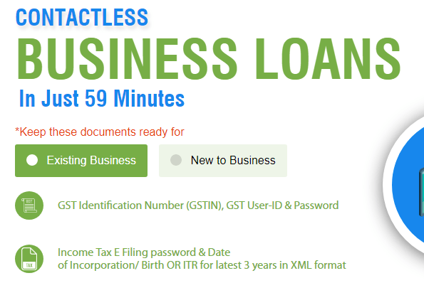 MSME Business Loans in 59 Minutes