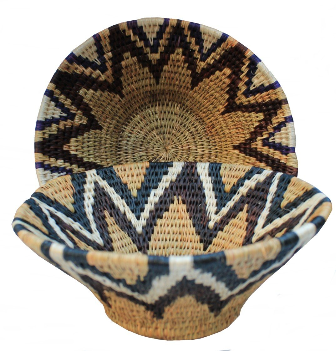 African Woven Hamper Unique Gifts Fairtrade Gifts African Baskets