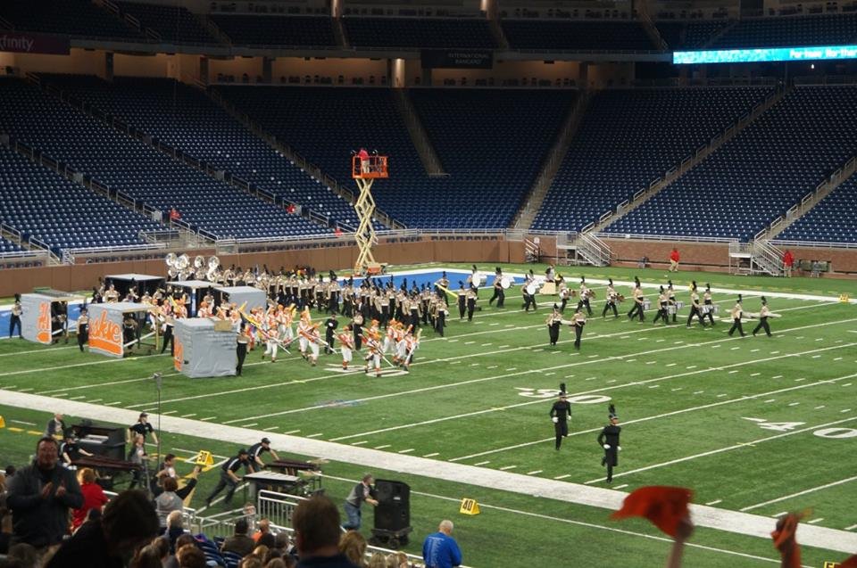 Portage Northern Marching Band
