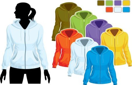 Free Sweater Template 01 Clipart and Vector Graphics - Clipartme