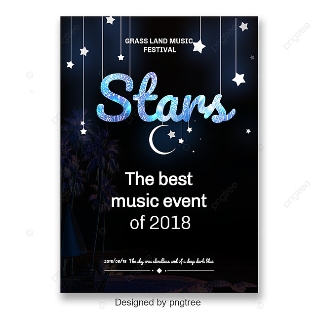 Creative event poster with glitter effect Art Font For Free Download