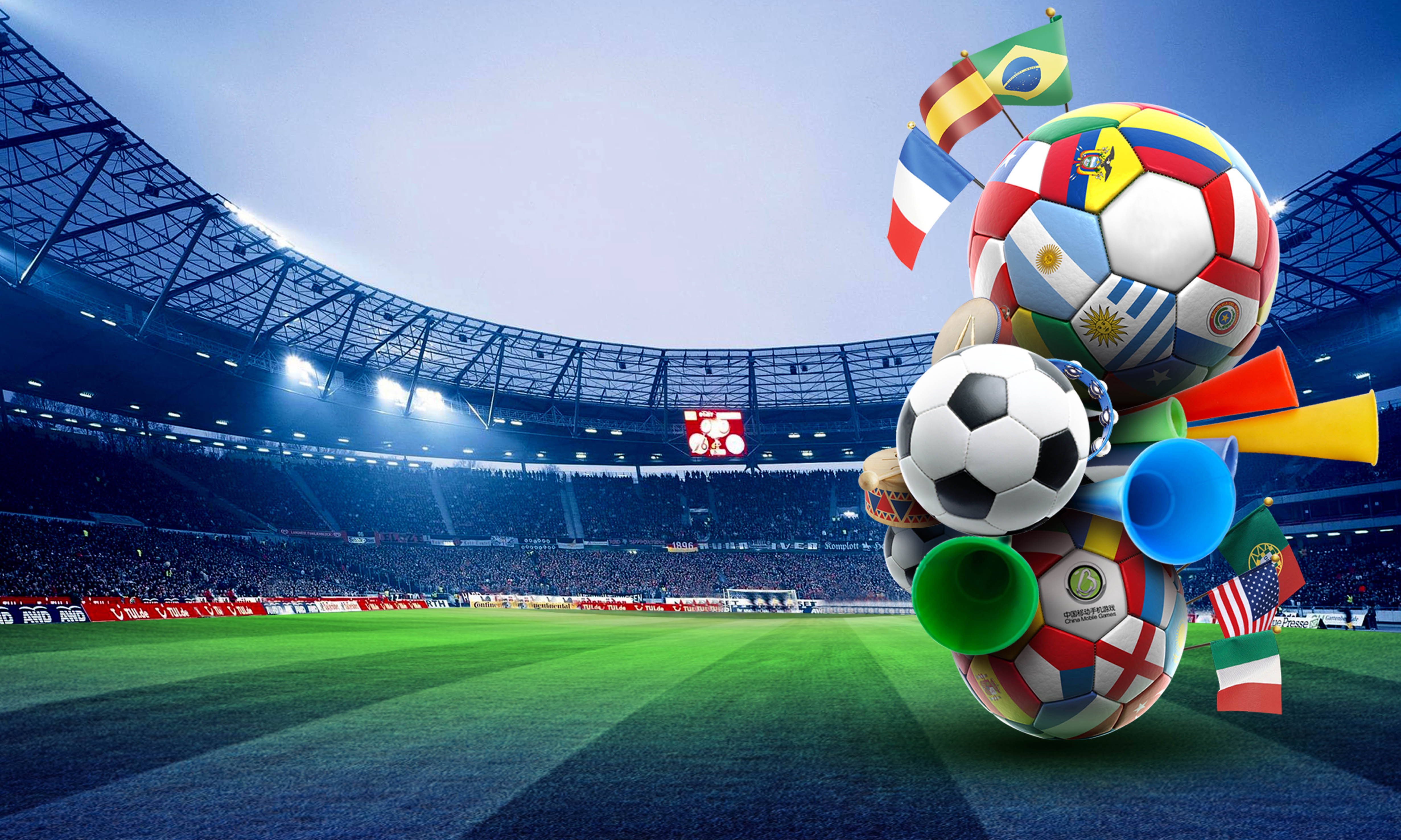 Cute Ribbons Wallpaper Posters Football Games Football Happy World Cup