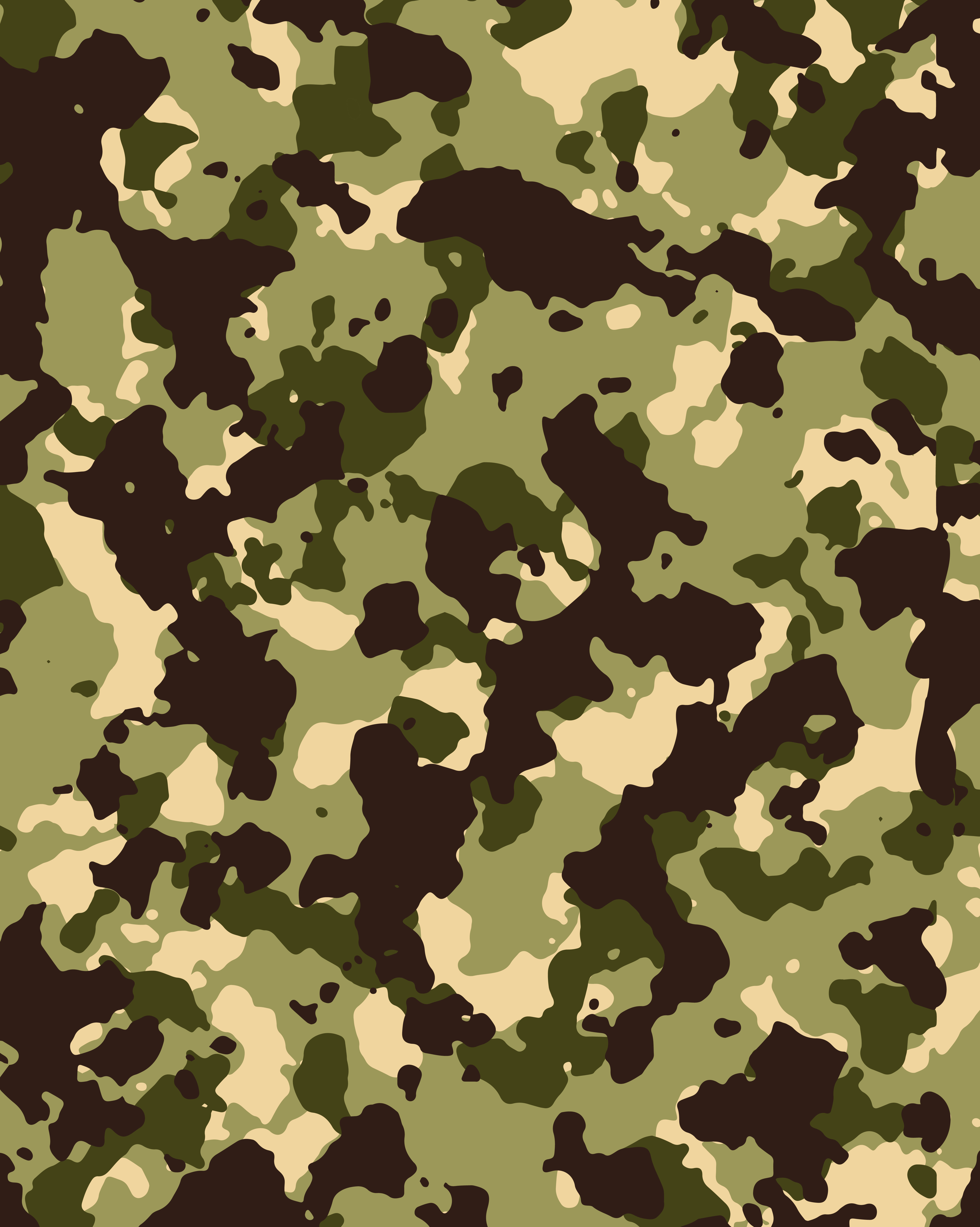 Fall Bird Wallpaper Vector Green Military Camouflage Texture Background