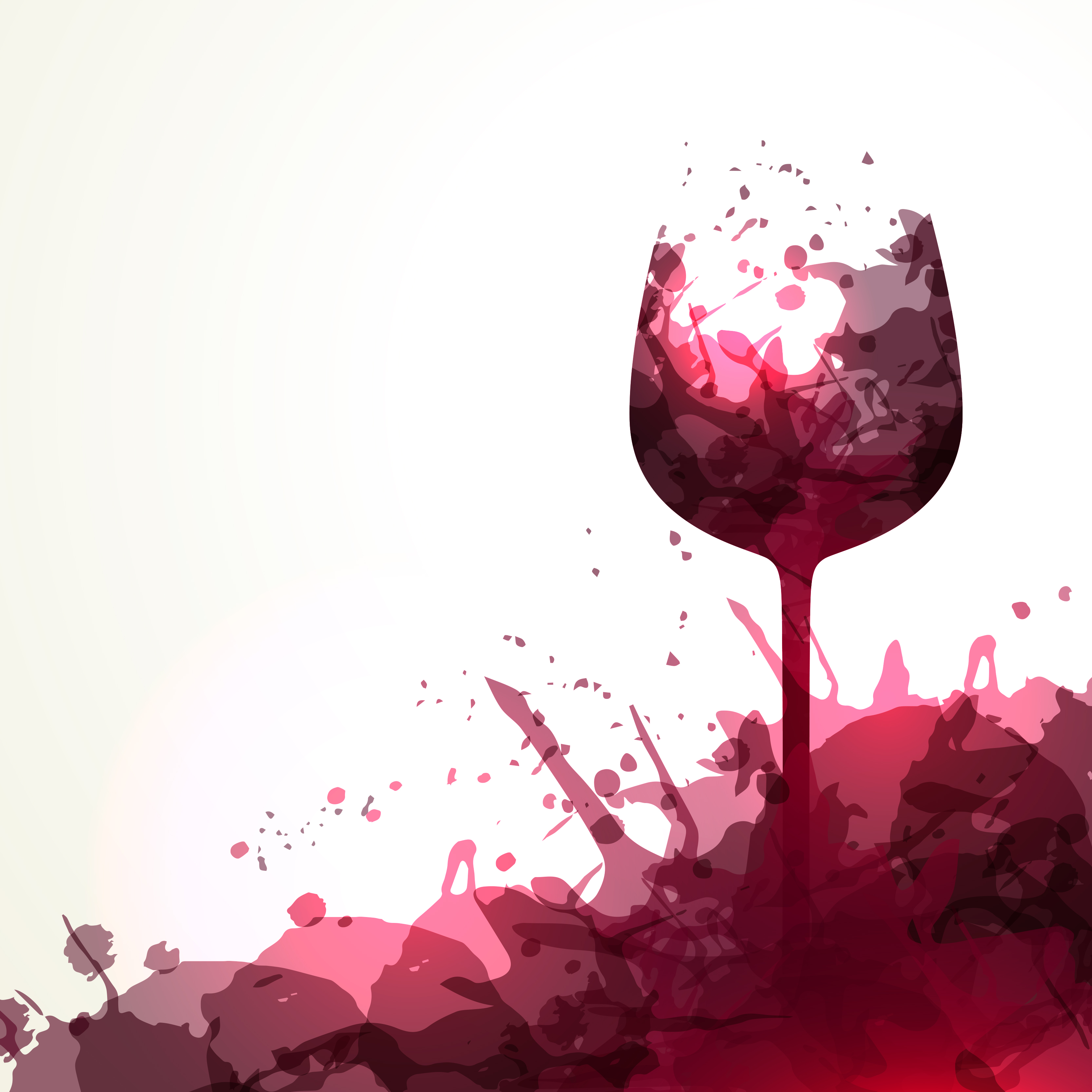 Cute Ribbons Wallpaper Wine Stain Background Wine Vector Wineglass Background