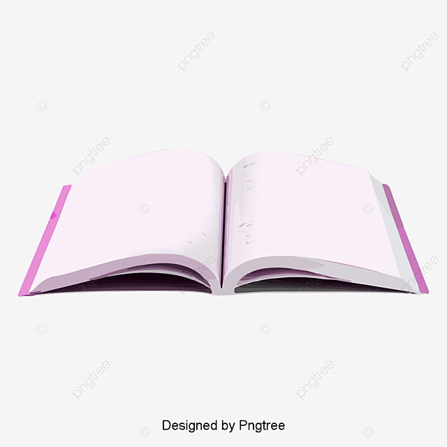 Opened Books, Book, Red PNG and PSD File for Free Download - opened book