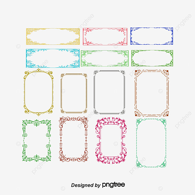 Certificate Border, Pattern Border, Lace PNG and Vector for Free