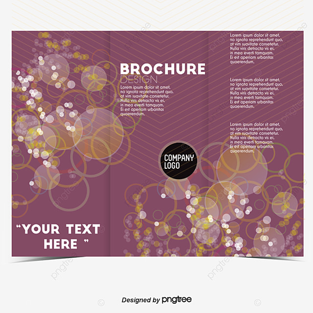 Fashion Business Trifold Design, Trifold Design, Color Brochure - business pamphlet templates free