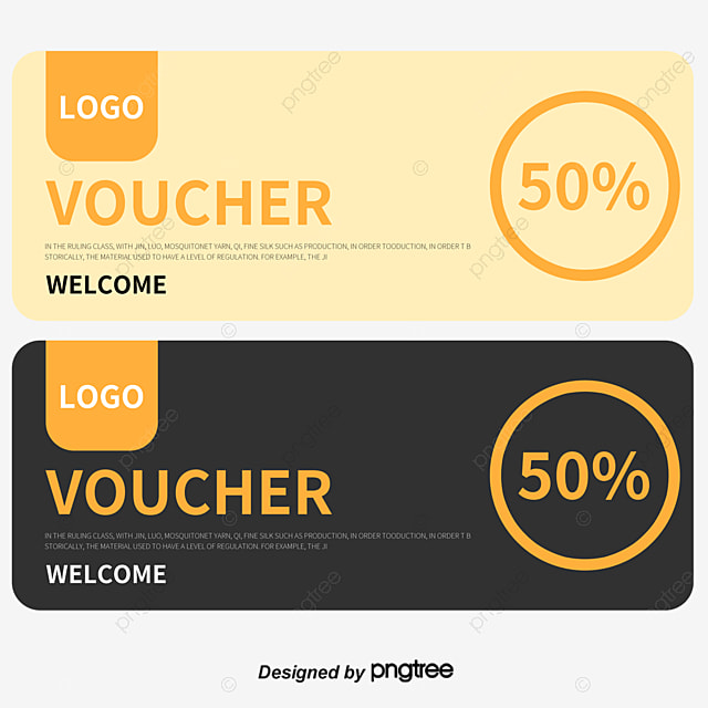 Vector Gift Certificate Design, Modern Fashion Coupons, Color