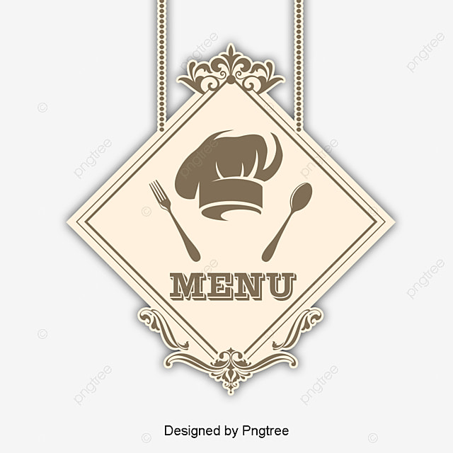 The Elegant Restaurant Menu Pattern Vector, Elegant, Pattern