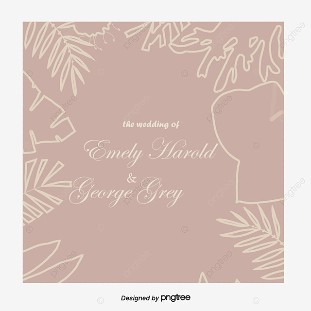 Wedding Invitation Template Free Download, Marry, Marriage