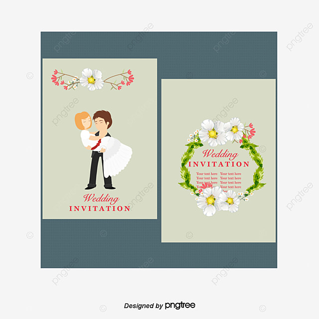 Wedding Invitation Template Free Download, Template, Marriage