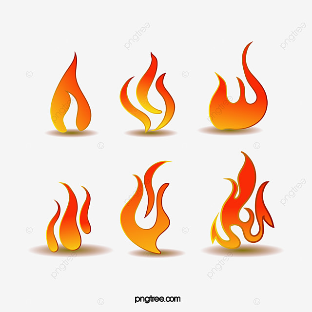 Flame Logo Vector Material, A Small Flame, Fire, Chafing Dish PNG - flame logo