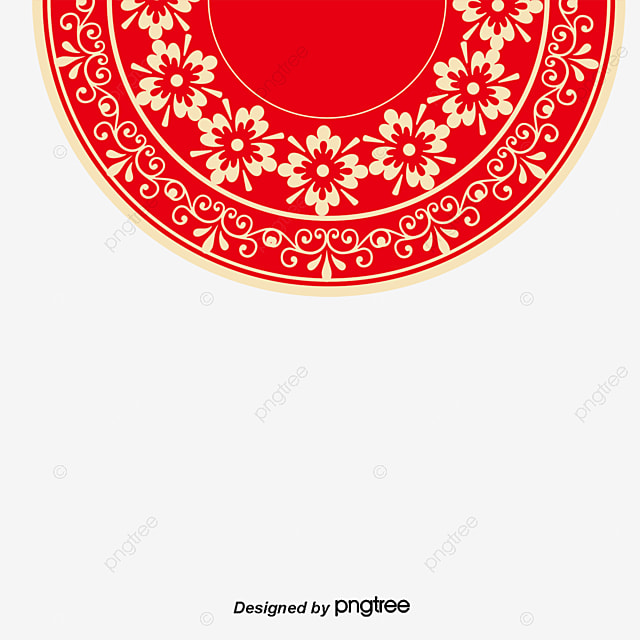 Happy New Year Background, New Year, Chinese Style, Red PNG and