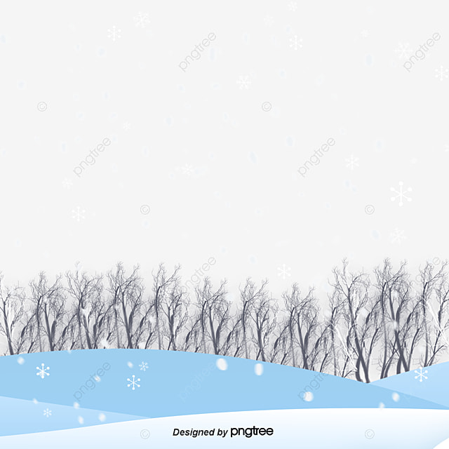 Snowflake Border, Snowman, Snowball, Snowflake PNG and PSD File for