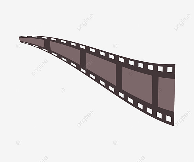 Film Clips Border, Film, Frame, Black PNG Image and Clipart for Free