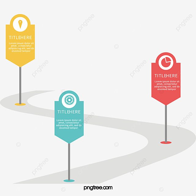 Color Icon Milestone Timeline, Vector Png, Information Chart - baby milestone timeline