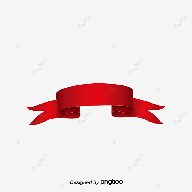 Retro Red Label Material, Decorate, Ribbon Banner, Junk Label PNG - label