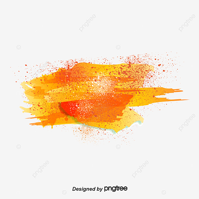 Free Fall Pumpkin Wallpaper Splash Ink Orange Color Ink Jet Png And Vector For Free