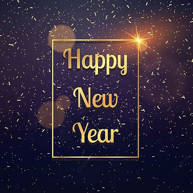 Happy New Year Background, New, Year, Happy PNG and Vector for Free