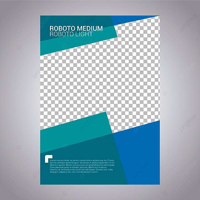 Geometric Business Report Template, Brochure, Flyer, Business PNG