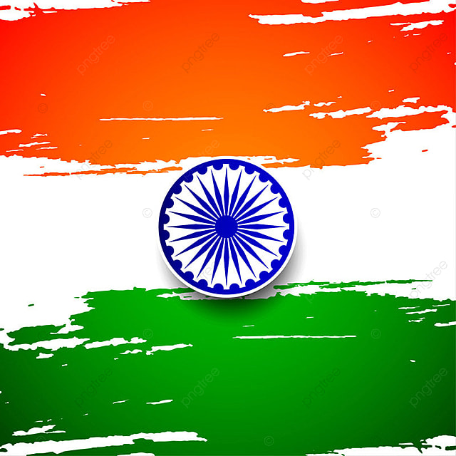 Indian National Flag Wallpaper 3d Abstract Indian Flag Theme Background Design Flag Of India