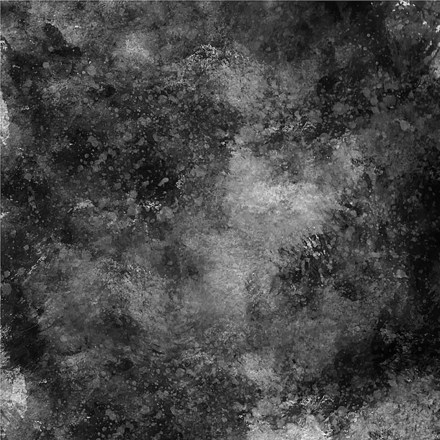 Black And White Splatter Water Abstract Watercolor Background