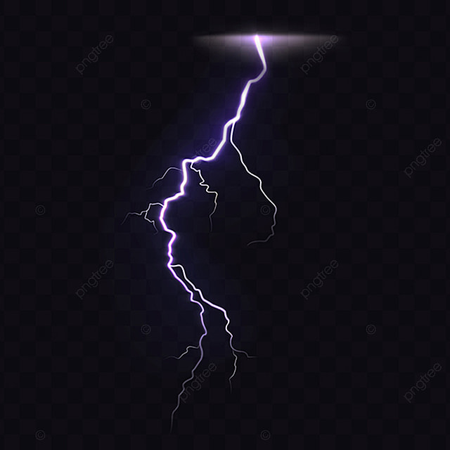 Danger 3d Wallpaper Download 3d Vector Realistic Illustration Of Lightning Lightning
