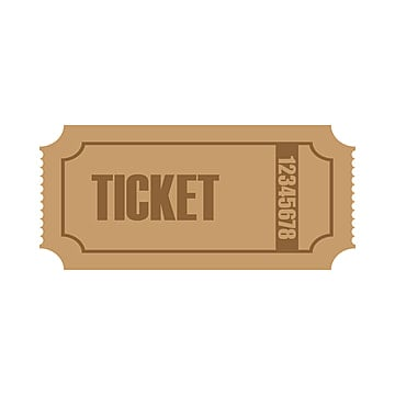 Ticket Template PNG Images Vectors and PSD Files Free Download