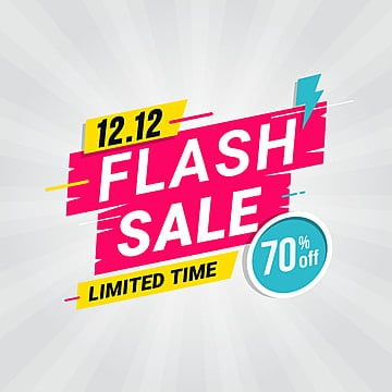 Colorful Shopping Sale Banner Template, Discount Sale Banner