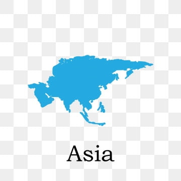 Asia Continent PNG Images Vectors and PSD Files Free Download on