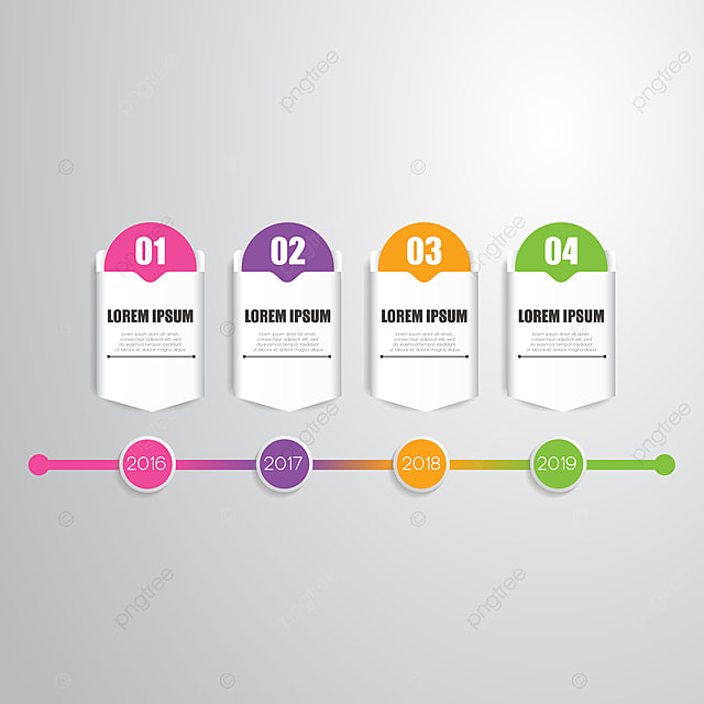 Timeline Infographic Template, Template, Infographic, Timeline PNG