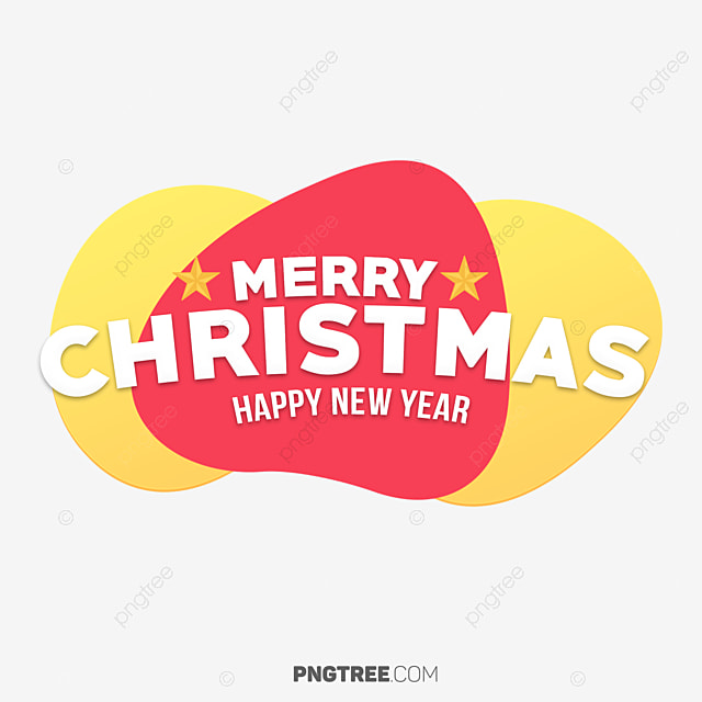 Colorful Abstract Merry Christmas Banner, Christmas, Eve, Happy PNG
