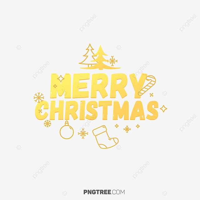 Merry Christmas Banner Transparent Design, Christmas, Eve, Happy PNG