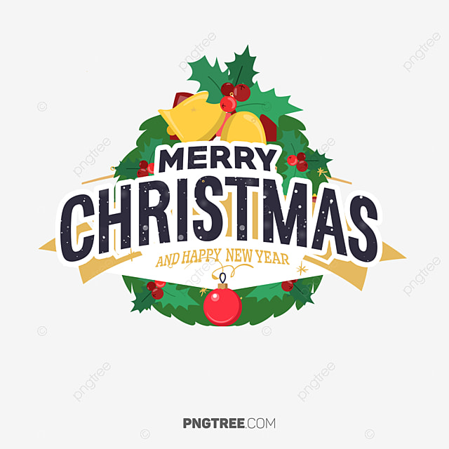 Merry Christmas Banner Bouquet, Christmas, Eve, Happy PNG and PSD
