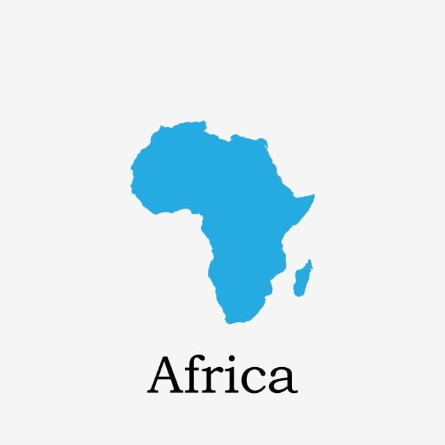 Africa Map, Africa, Continent, Location PNG and Vector for Free Download