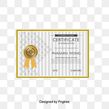 Certificate Design Png, Vectors, PSD, and Clipart for Free Download