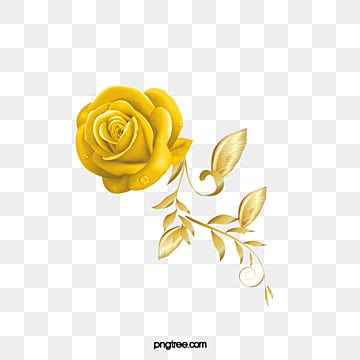 Cute Red Blue And Yellow Hd Graphic Flowers Wallpaper Golden Rose Png Images Vectors And Psd Files Free