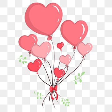 3d Love Red Heart Wallpaper Heart Balloon Png Vectors Psd And Clipart For Free