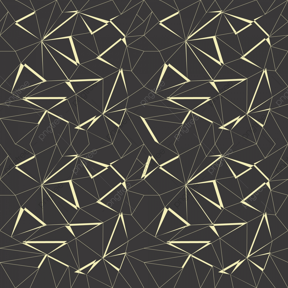 Abstract Geometric Pattern Background With Black And Gold Color Pattern Background Geometric Abstract Png And Vector With Transparent Background For Free Download