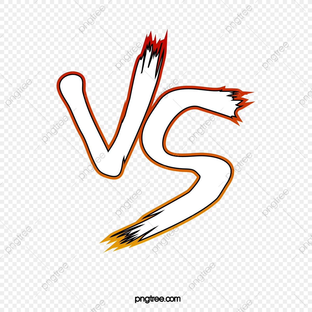 / Vs Vs Showdown Vs Calligraphy Pk Duel Vs Png Transparent