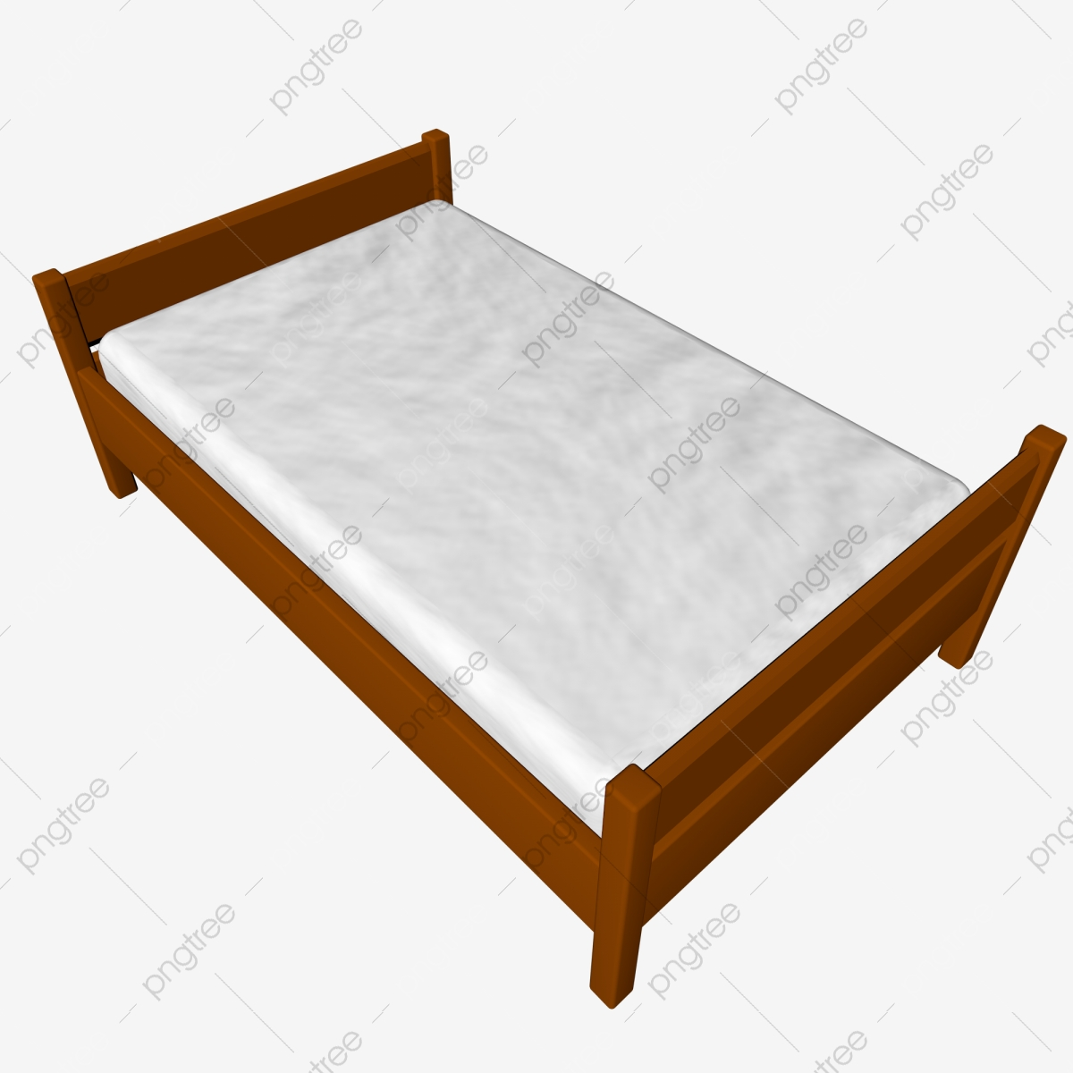 Simulation Furniture Single Bed Png Free Buckle C4d Model Simulation Furniture Home Improvement Png Transparent Clipart Image And Psd File For Free Download