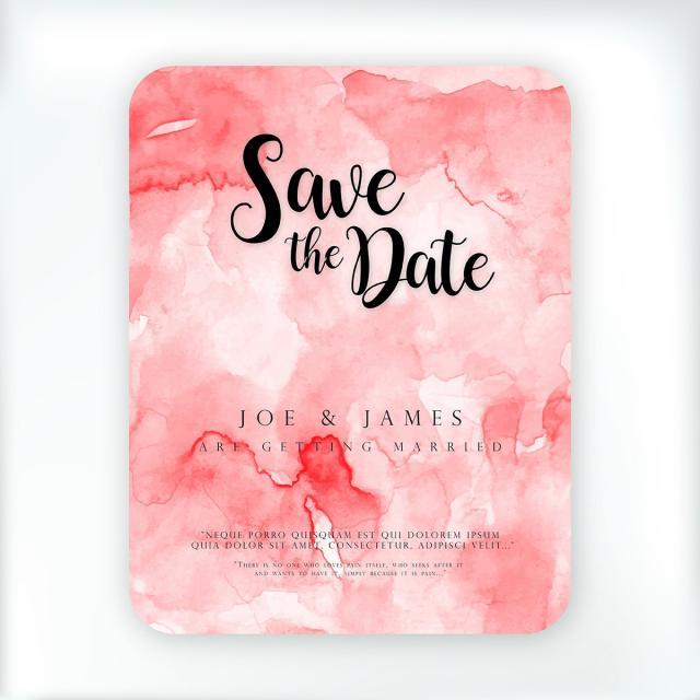 Watercolor Wedding Invitation Template for Free Download on Pngtree