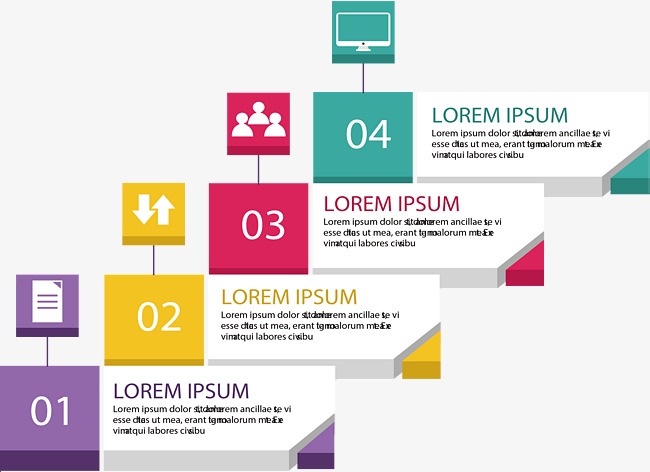 Color Ladder Catalog Page, Color Vector, Vector Png, Directory Page