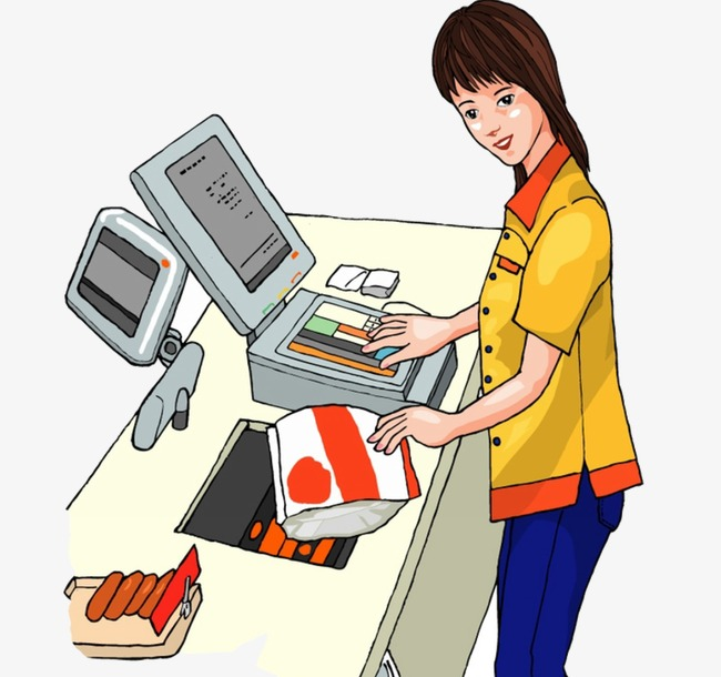 Creative People, People Clipart, Tellers, Shop Assistant PNG Image