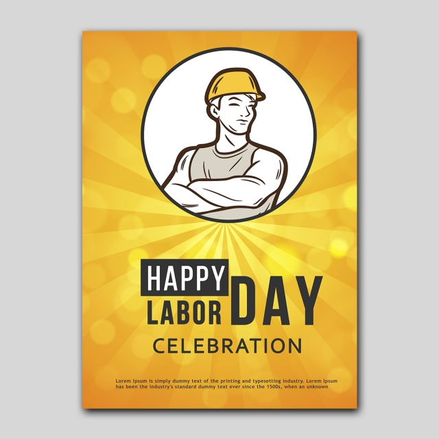 labour day poster Template for Free Download on Pngtree